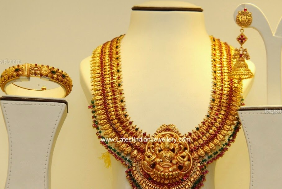 South Indian Temple Bridal Jewellery