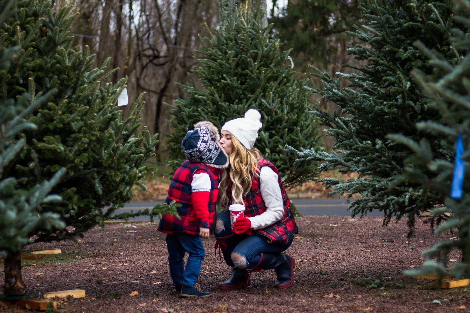 Mother and Son Holiday Outfit Ideas