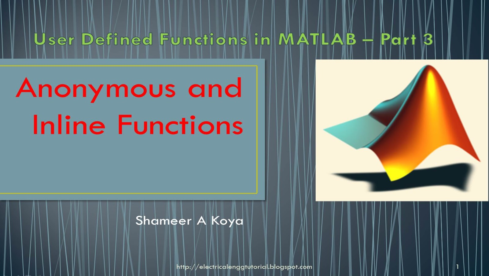 matlab tutorial pdf for engineers