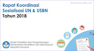 Persiapan UN dan USBN Tahun 2018 - Sesbalitbang