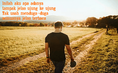 Puisi Pendek Inilah Saya Apa Adanya Dengan Sejuta Kekuranganku