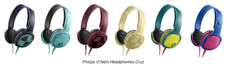 Philips O'Neill Headphones Cruz
