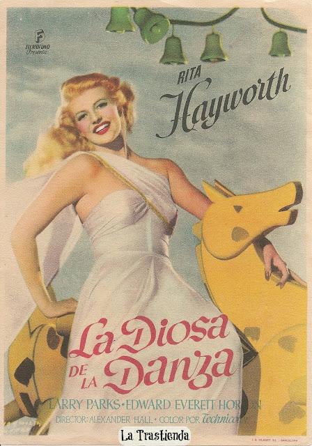 Programa de Cine - La Diosa de la Danza - Rita Hayworth - Larry Parks