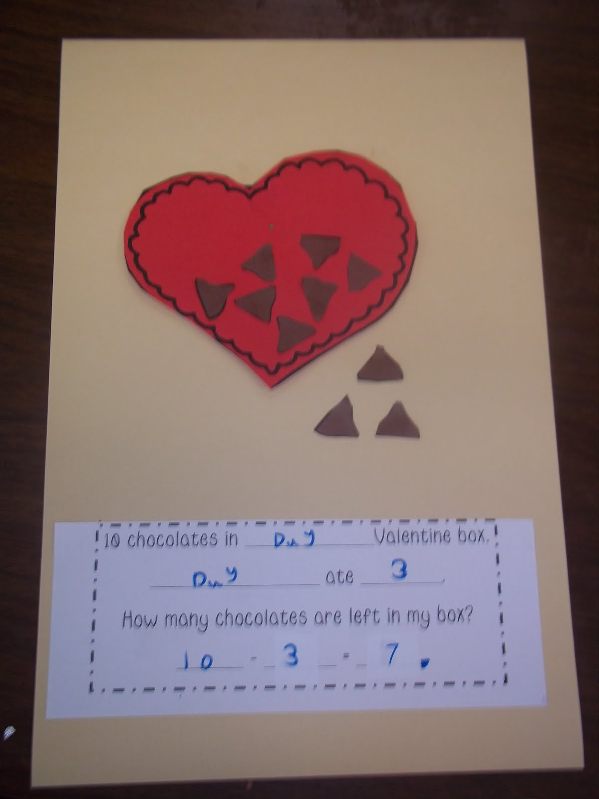 Mrs Wood S Kindergarten Class Valentine Math