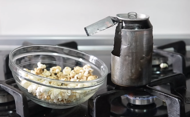maquina, palomitas, popcorn, casera