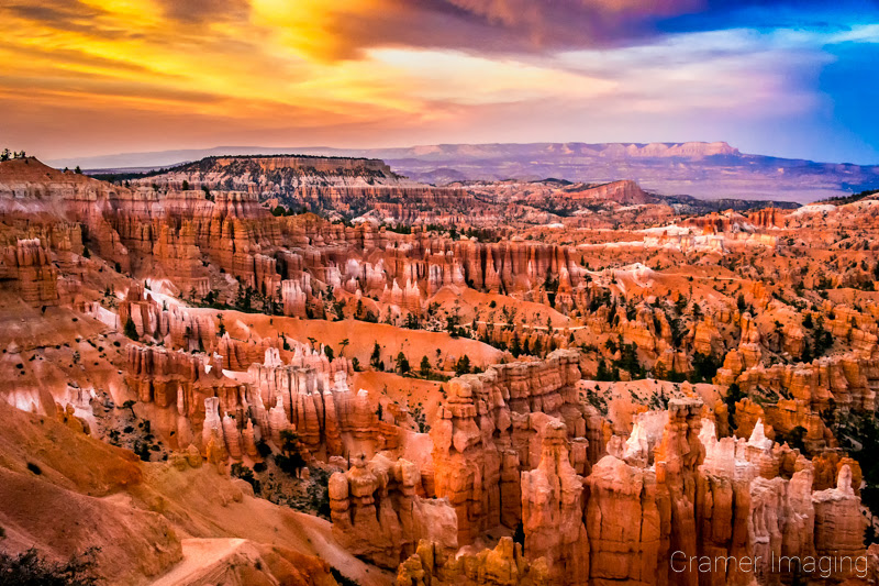 Sunset at Bryce