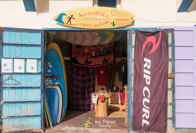 Escuela de Surf en Sidi-Ifni, Marruecos