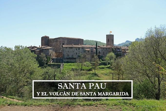 La Garrotxa: Santa Pau y Volcán Santa Margarida