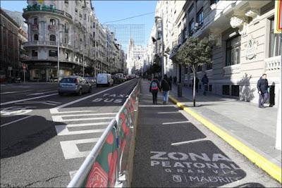 Gran Vía peatonal