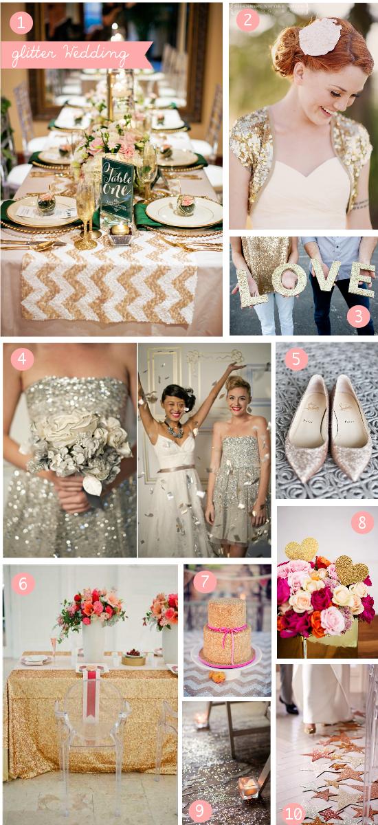 Matrimonio Tema Brillantini : Matrimoni a tema glitter nadia manzato wedding couture