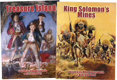 Treasure Island and King Solomon's Mines from Bear Alley Books
