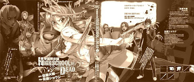 Highschool of the Dead (cover #1)