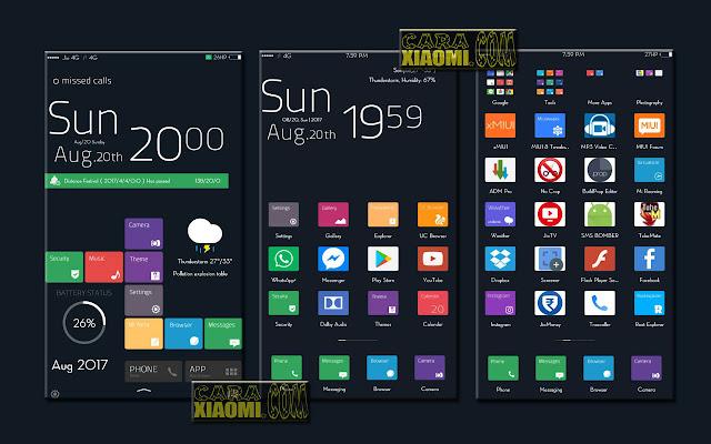 MIUI Theme Windows 10 Pro Modified - Tema Windows untuk Xiaomi