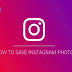How to Save Pictures Off Instagram
