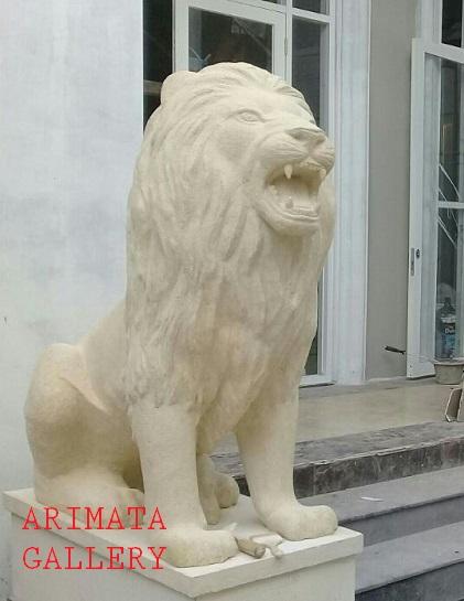 gambar jual patung singa