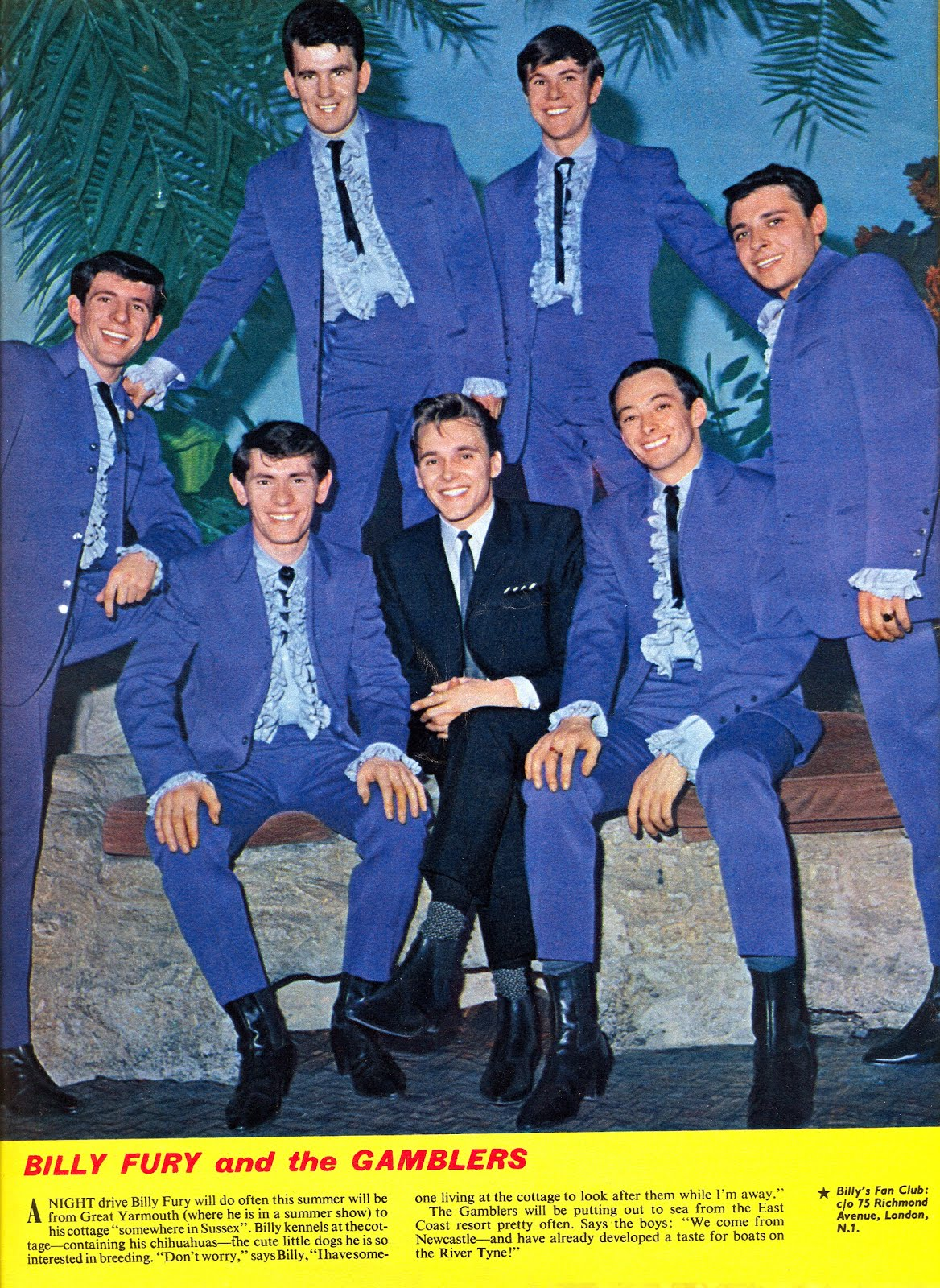 Billy Fury And The Gamblers
