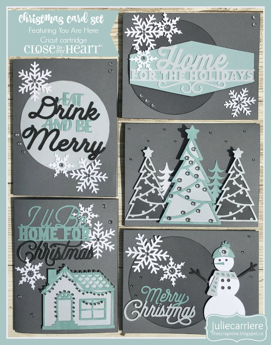 Christmas Cardmaking assembly guide