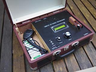 UBITX suitcase radio - www.myadventuresinengineering.com