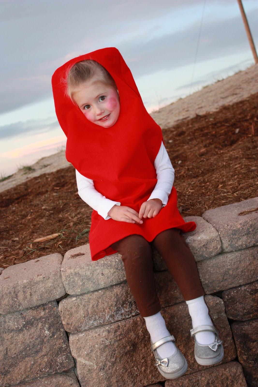 Jujub Cherry Red Popsicle Halloween Costume Tutorial