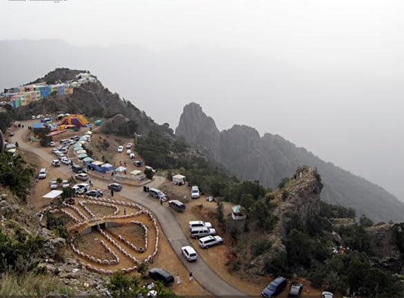 أعلى قمة حبلية في السعودية