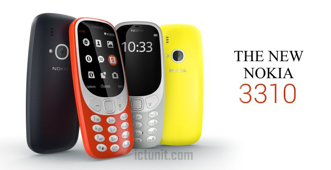 سعر ومواصفات Nokia 3310 2017 الجديد بالصور والفيديو