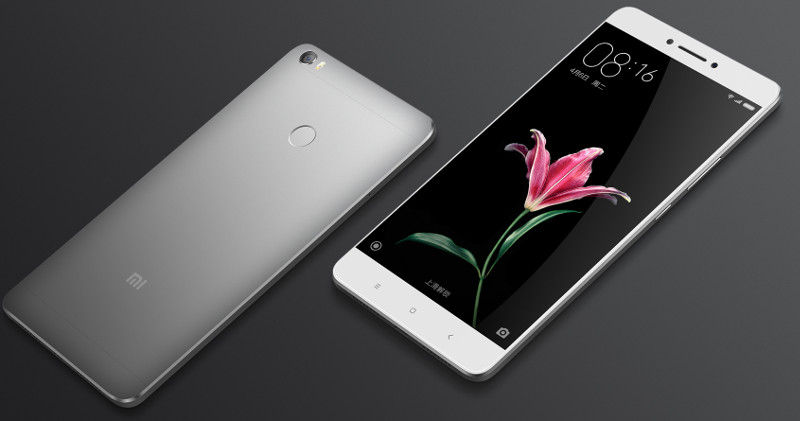 Xiaomi Unveils Mi Max With 6.44-inch Full HD display And 4,850mAh battery