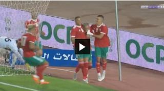 اهداف مباراة المغرب و مالاوى فى  تصفيات كأس أمم أفريقيا 2019