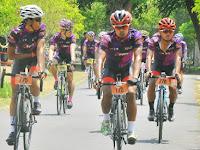 Peserta  Tour de Prambanan 2018  membludak