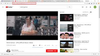 Download Video Music di YouTube menjadi MP3
