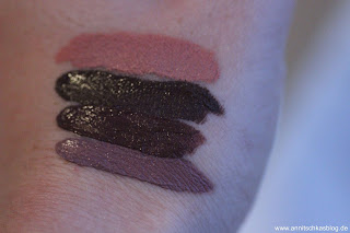 Review: CATRICE Blessing Browns - lecker schokoladig! -Matt Lip Cream - www.annitschkasblog.de
