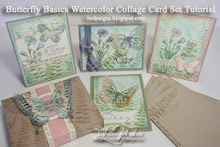 Butterfly Basics Watercolor Card Kits & Tutorial