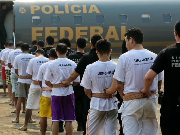 Resultado de imagem para Após ataques, Ceará faz 20 transferências para presídio federal de Mossoró