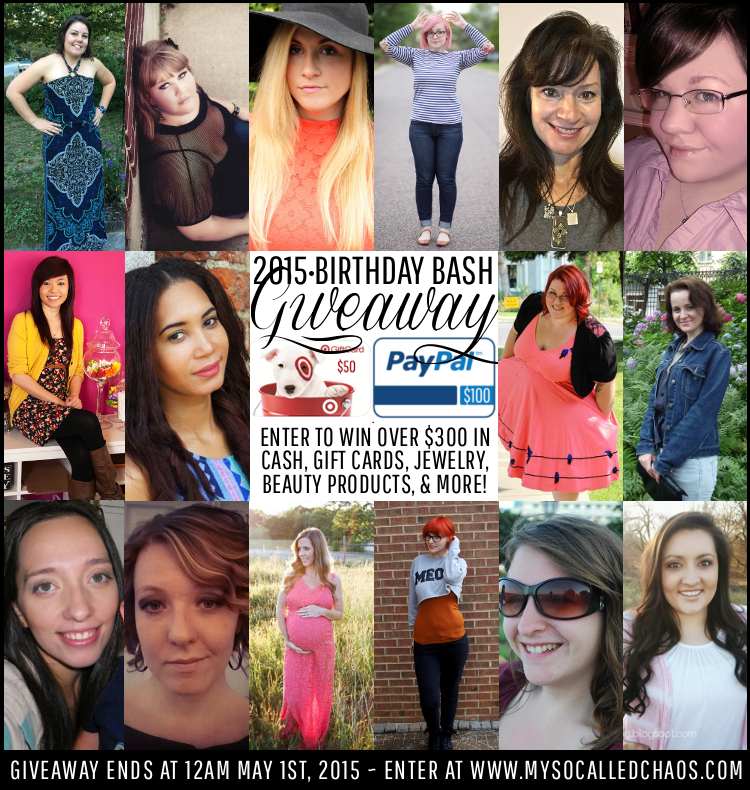 Big Birthday Bash Giveaway
