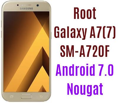 Root Galaxy A7 2017 SM-A720F