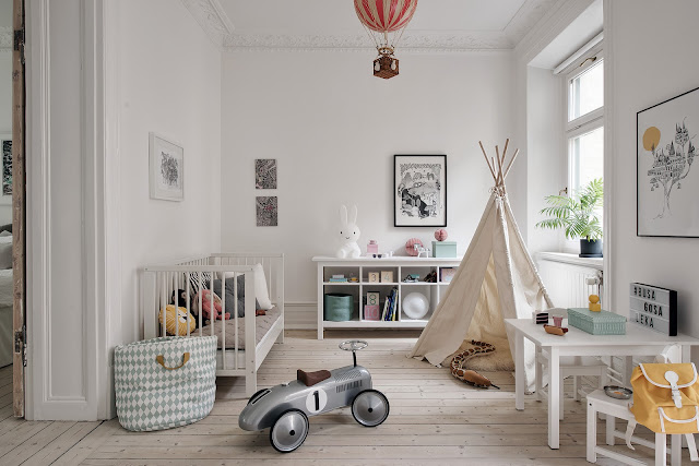 camera de copii cu cort