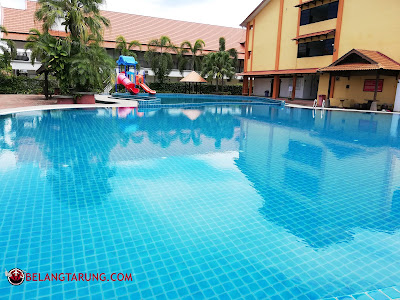 Kolam Mandi Di Tanjung Demong Resort
