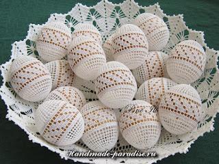 К празднику ПАСХA: Мешочек для пасхальных яиц крючком