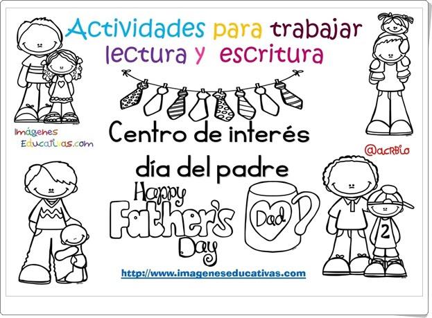 """""""Actividades para el Día del Padre"""" (Lectura y escritura)"""