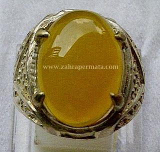 Batu Permata Yellow Chalcedony - ZP 263