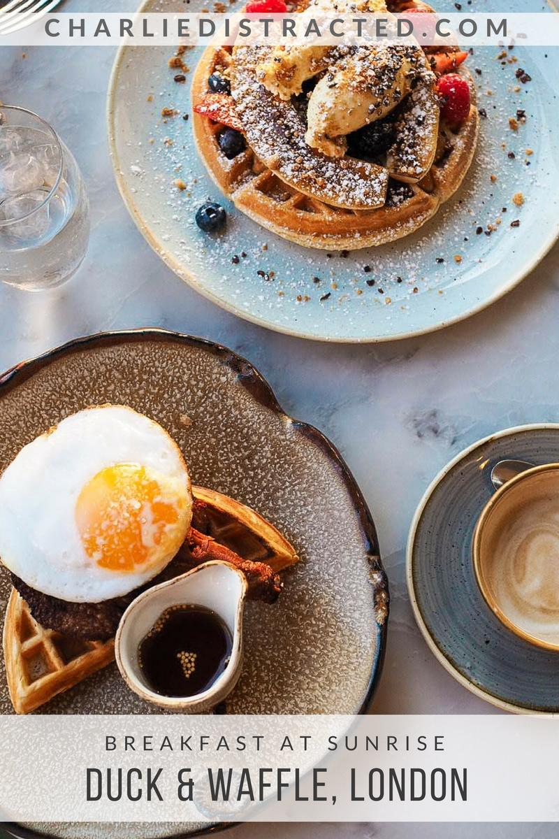 A Sunrise Breakfast at Duck & Waffle, London