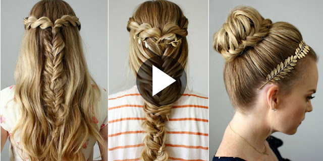 Learn - How To Create These 3 Beautiful Hairstyle, See Quick Tutorials