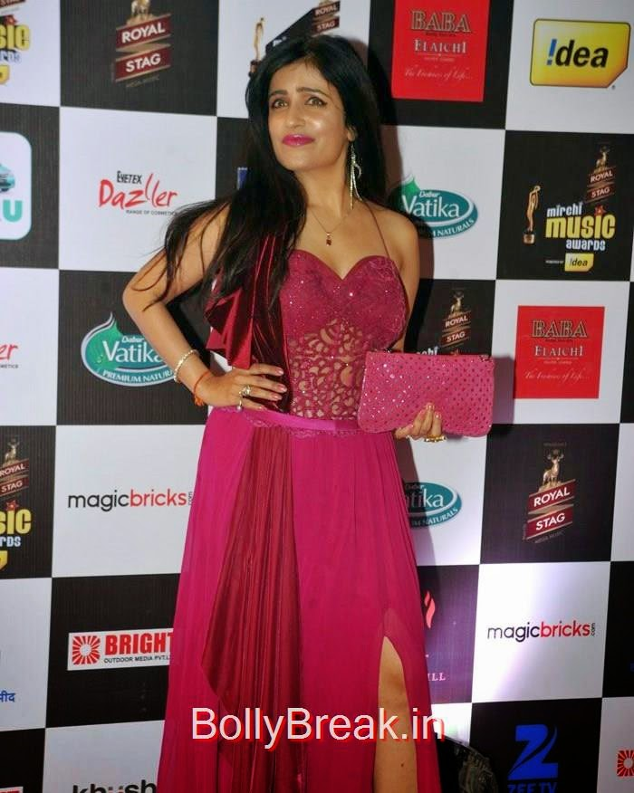 Celebs at 7th Mirchi Music Awards, Madhuri Dixit, Rakhi Sawant Hot Pics at 7th Mirchi Music Awards