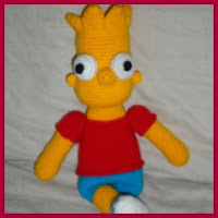 Bart amigurumi