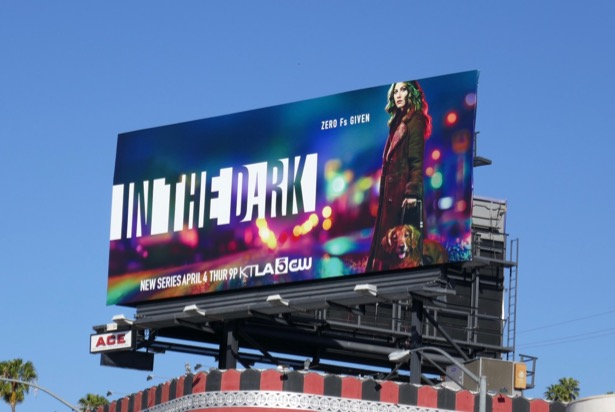 In The Dark series premiere billboard