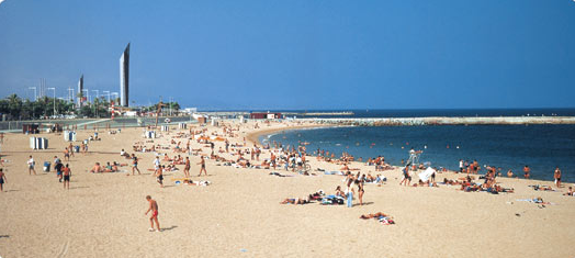 Enjoy Your Full Day on the Beach in Barcelona