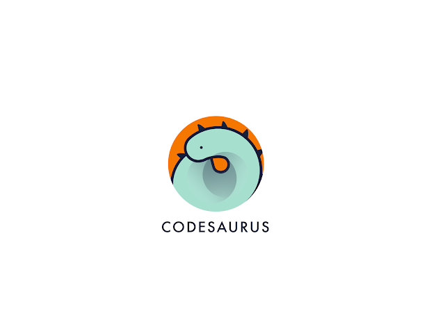 Logotype Codesaurus color