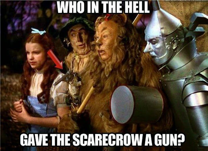 Semajs Blog Your Blog The Scarecrow From The Wizard Of Oz Carries