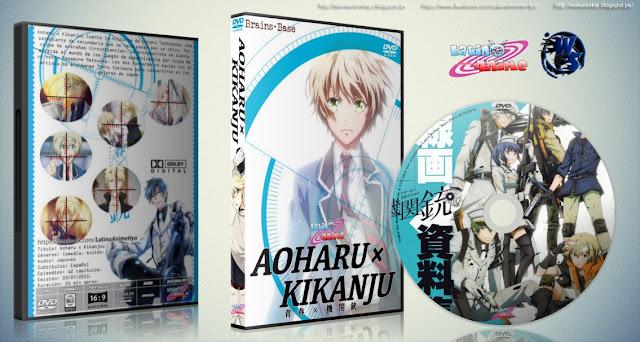 Aoharu x Kikanju   Cover DVD  