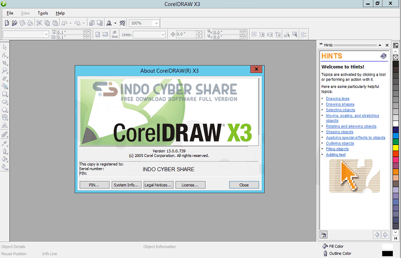 download corel draw x3 full crack