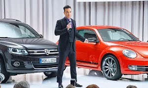 Robbie Williams became head of marketing for Volkswagen
